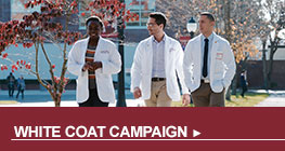Dean's White Coat Campaign button