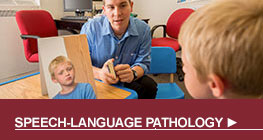Speech Language Pathology button