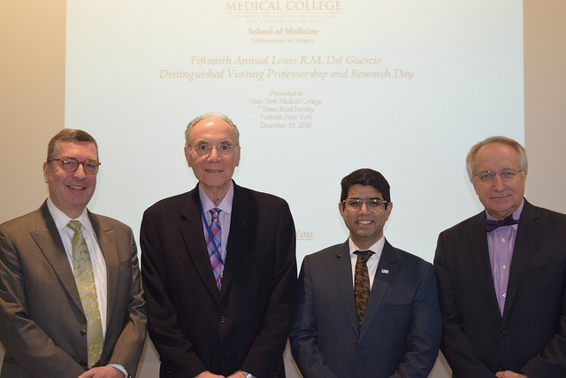 15th Annual Louis R.M. DelGuercio Distinguished Visiting Professorship & Research Day