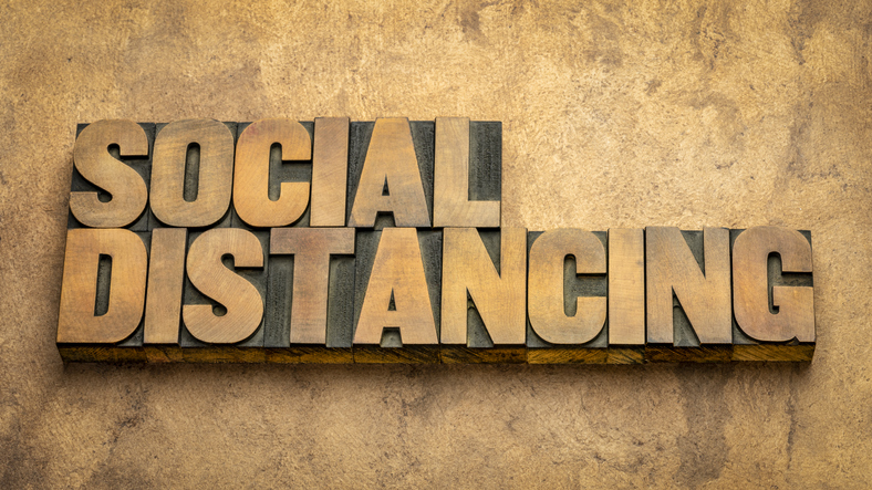 Social Distance Saves Lives