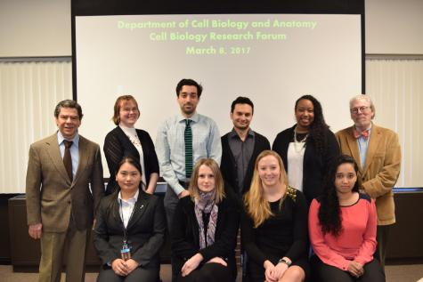 Department of Cell Biology and Anatomy Hosts Annual Research Forum ...