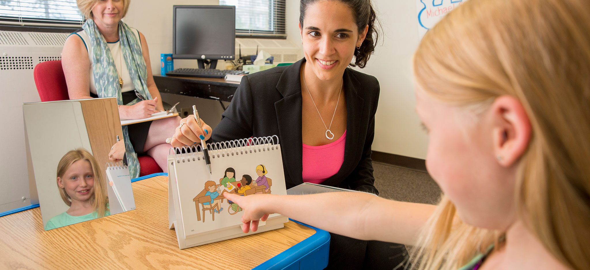 Learn about our Master of Science in Speech-Language Pathology (S.L.P.). Apply now. Learn more »